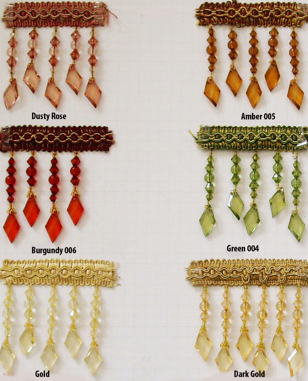 This is a beautiful Crystal Beaded fringe for any type of sewing Expo International Joanne Beaded Teardrop Fringe Trim Embellishment, Yard, Silver by Expo International Inc.