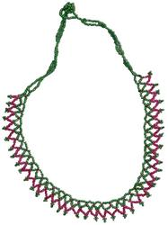 18 Long Seed Bead Necklace