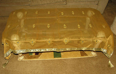Sheer Table Cover