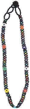 16 Long Seed Bead Necklace