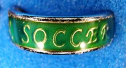 Band Mood Ring with Dance, Cheer, Soccer