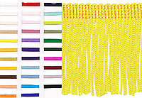 2 Inch Poly Chainette Fringe 10 Yards