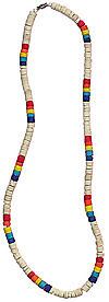 18 Long Coco Bead Necklace