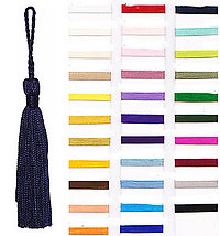 3 Inch Long rayon Tassel with 2