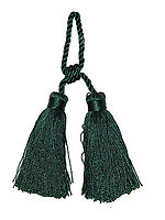 4 Long napkin Tie Tassel With 2 Loop