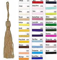 2 rayon Tassel With 2 loop